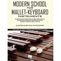 【预订】Modern School for Mallet-Keyboard Instruments: Includes