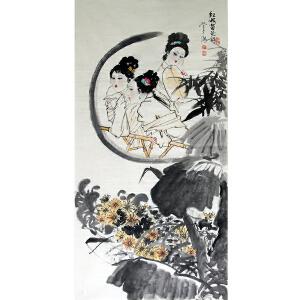 刘学多(红楼菊花诗B)广西美术家协会会员
