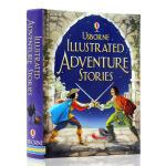英文原版绘本Illustrated adventure stories 冒险故事Usborne出品 插图故事书精装儿童