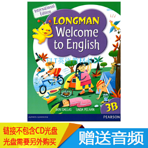 原版香港朗文小学英语教材Longman Welcome to English 3B 学生书