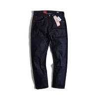 Levi's /李维斯牛仔裤501CT高端线赤耳男款窄脚牛仔裤 男士长裤
