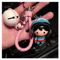 创意可爱米妮 汽车钥匙扣男士女款包包挂件饰情侣钥匙链圈