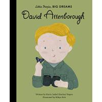 小男孩,大梦想:大卫・爱登堡 David Attenborough 英文原版 绘本 精装大开本 名人传记 Little