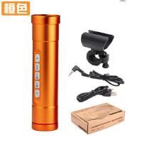 自行车灯音响低音MP3强光手电筒插卡扬声器便携收音机充电宝手电
