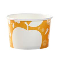 一次性纸碗冰淇淋碗冰激凌纸杯刨冰雪糕纸碗100只装