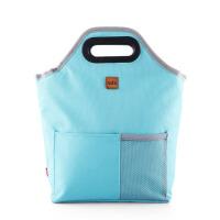 饭盒袋便当包保温防水午餐男女手提包小拎包袋 子大号