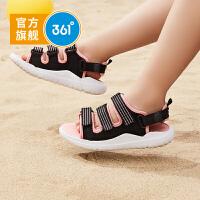 361度童鞋女童沙滩凉鞋2021年夏季新品沙滩鞋凉鞋舒适凉拖鞋沙滩鞋儿童凉鞋N81922601
