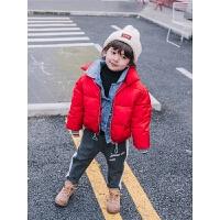 儿童棉衣短款外套冬装男童冬男宝宝童装