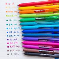 美国Paper Mate缤乐美糖果色中性笔0.5mm学生按动水笔多色签字笔韩国可爱小清新彩色手账本P1
