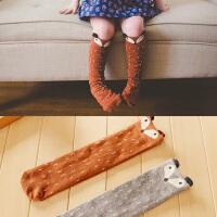 咔米嗒儿童时尚脚底袜女童春夏气质可爱打底袜小女孩袜子