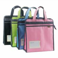 康百F6706立体手提布袋 学生学习资料收纳袋 整理袋 彩色拎书袋