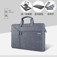 �O果�P�本macbook air13手提��X包15.6寸pro15�饶�14女13.3男11.6�饶�包