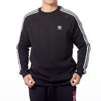 Adidas阿迪达斯男装三叶草运动卫衣休闲圆领套头衫DV1555