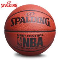 斯伯丁NBA篮球官方正品耐磨室外7号水泥地比赛专用非真皮牛皮