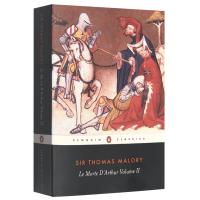 正版现货亚瑟王之死2 英文原版奇幻小说 Le Morte d'Arthur Volume 2亚瑟王与圆桌骑士传奇 Pe