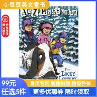 进口英文原版The Lucky Lottery A to Z 神秘案件 #12 被偷走的* 6-1