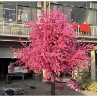 假桃树大型仿真桃花树仿真樱花树仿真梅花树许愿树桃花装饰