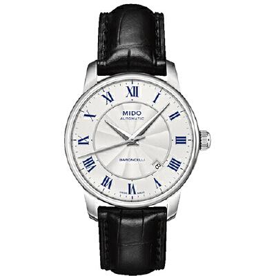 美度MIDO-贝伦赛丽 BARONCELLI系列 M8600.4.21.4 机械男士手表【好礼万表 礼品卡可购】下单后16:45前支付,1-3个工作日到达