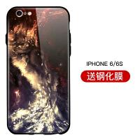 苹果x手机壳xr玻璃IPhone8硅胶8plus潮牌6s全包7p网红xr轻薄xmax