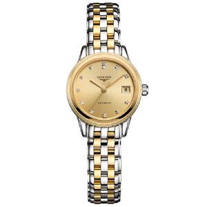 浪琴Longines-军旗系列 L4.274.3.37.7 机械女士手表