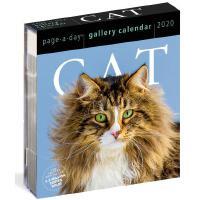 【现货】英文原版 2020年画廊日历:猫咪 猫奴适用 进口台历 办公室桌面摆件(亚克力) 精美装帧 新年礼物 Cat