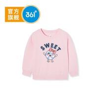 【超品日秒杀价:69】361度女童套头卫衣2020年春季新品K61934302
