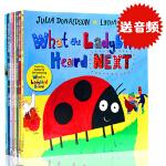 进口英文原版绘本 What the Ladybird Heard and Other Stories 8本套装 Jul