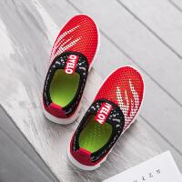 童鞋运动鞋 春秋双网男童跑步鞋轻便单网步鞋女童宝宝鞋夏季