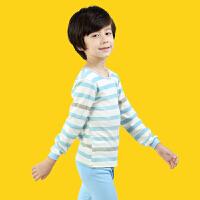 【618大促-每满100减50】彩桥 儿童内衣套装纯棉男女童秋衣秋裤套装保暖棉毛衫卡通家居服睡衣儿童秋装