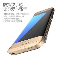 三星S6背夹电池充电宝S6e移动电源e+手机后壳充电器便携式轻薄一体充冲电器轻薄大容量