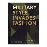 现货 Military Style Invades Fashion 军事风格时尚 当代军事迷彩 军事启发服装设计 时尚服