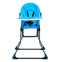 【当当自营】萌宝(Cutebaby)方便可折叠 便携儿童餐椅 CBC102蓝色