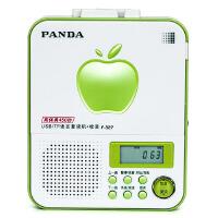 熊猫(PANDA) F-327语言复读机插卡MP3播放器u盘播放机(绿色)