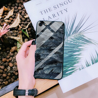 iphonese手机壳5玻璃iphone5se手机套男女款个性创意全包防摔潮苹果5s手