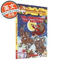 老鼠记者 英文原版 The Christmas Toy Factory#27 好心鼠的快乐圣诞 圣诞节玩具厂 Gero