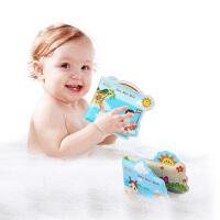 jollybaby婴儿戏水洗澡布书 0-18个月宝宝益智早教安抚洗澡玩具