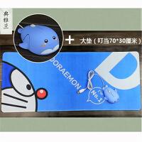女生鼠标有线静音笔记本台式电脑USB小手海豚卡通可爱粉色 LOL CF DNF 典雅兰 送大鼠标垫