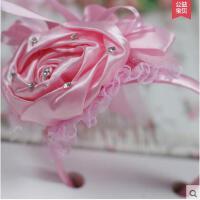 防滑舒适耐用清新百搭婚礼花童花朵儿童头饰女童礼服发箍发卡