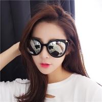 新款个性方形女太阳眼镜圆脸防紫外线墨镜女潮眼镜女近视