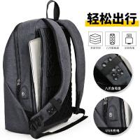 学生书包男士背包男青年旅行包男士双肩包男包休闲电脑包时尚潮流