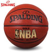 斯伯丁nba篮球官方正品学生耐磨室外水泥地比赛专用7号非真皮牛皮