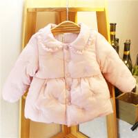 童装女童冬季棉衣婴儿幼儿棉袄宝宝保暖冬装上衣