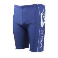 男士沙滩裤宽松平角泳装速干五分游泳裤加肥大码