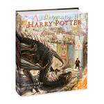 【现货】英文原版 哈利波特与火焰杯 全彩插图版 哈利波特卷4 Harry Potter and the Goblet