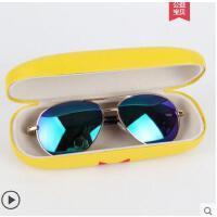眼镜防紫外线舒适蛤蟆镜飞行女童宝宝个性墨镜潮儿童太阳镜男童