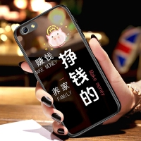 iphone6手机壳苹果6s套ip6s玻璃平果6s趣味文字iphong6情侣i6s硬壳lphone6