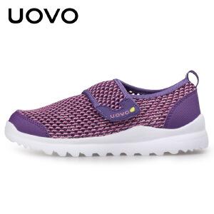 UOVO 2017儿童休闲鞋春夏新款男女童鞋户外运动鞋 托斯卡纳