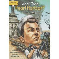 【现货】英文原版 What Was Pearl Harbor? 珍珠港事件是什么? who was/is认知系列 中小学