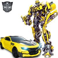 充电遥控汽车男孩大黄蜂机器人