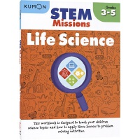 Kumon STEM Missions Life Science Grades 3-5 公文式教育STEM任务 创造性思